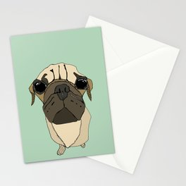 Puglet Stationery Cards