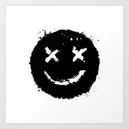 Confused Smile Art Print