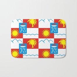 Sochi flag Bath Mat