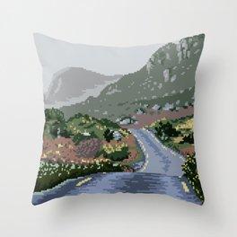 Gap of Dunloe, Ireland Throw Pillow