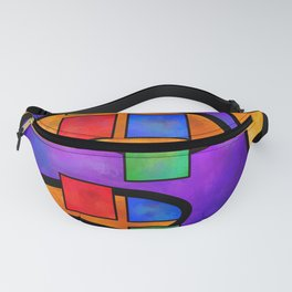 Desmelotipia - colourful cubes Fanny Pack