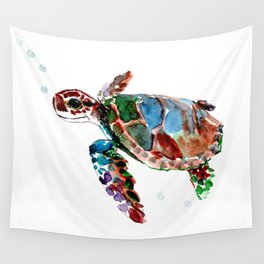 Baby Sea Turtle Wall Tapestry