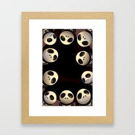 Nightmare before Christmas. Framed Art Print