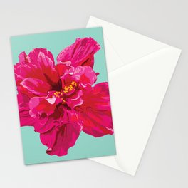 Hibiscus (Part of a Triptych) Stationery Cards