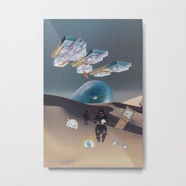Time Travel Metal Print