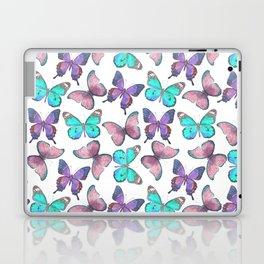 Flutter Butterfly Pattern Laptop & iPad Skin