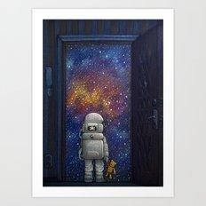 Universe at Your Door Art Print