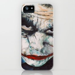 Heath Ledger, The Joker iPhone Case