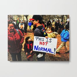 The Child Knows Metal Print