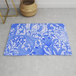 Blue and White Delft Rug