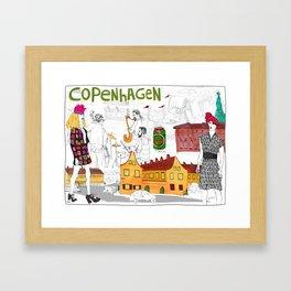 Copenhagen Framed Art Print