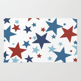 Stars - Red, White and Blue Rug