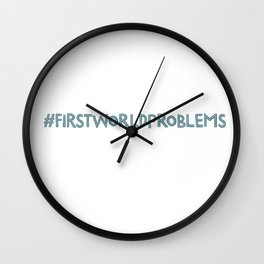 Problems Wall Clock