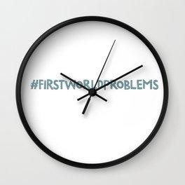 Problems Wall Clock