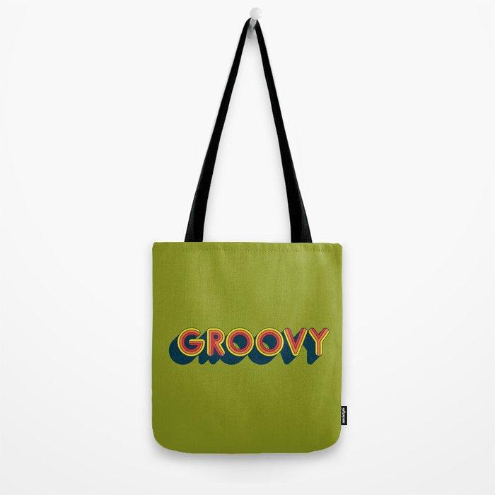 Groovy Tote Bag