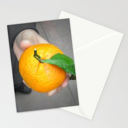 california orange Stationery Cards
