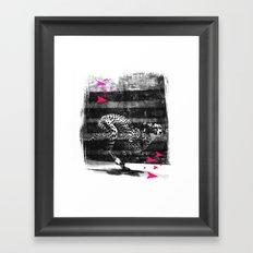 speed runner Framed Art Print