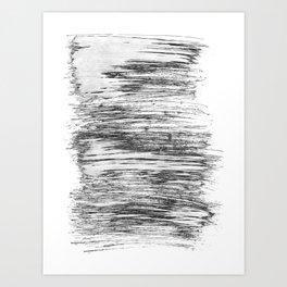 Texture#21 Dry brush Art Print