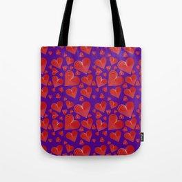 Hearts-001 Tote Bag