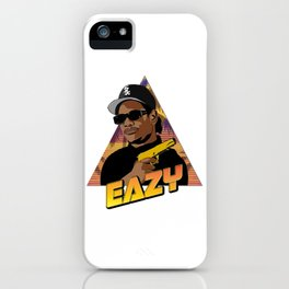Retro Eazy iPhone Case