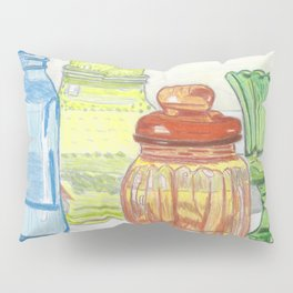 Colored Glass Pillow Sham