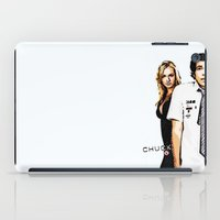 chuck iPad Cases featuring Chuck by SyafSyaf