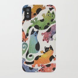12 cats iPhone Case