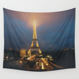 all lit up ... Wall Tapestry