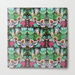 Flora + Fauna No.3 Metal Print