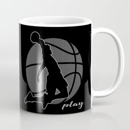 Basketball Player (monochrome) Coffee Mug