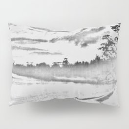 Jamaican Sunset Sketched Pillow Sham