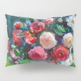Fruits & Rose Flowers Pillow Sham