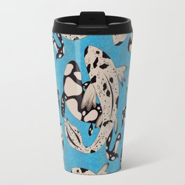 Speckled Koi Travel Mug