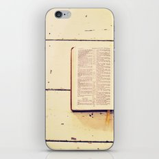 Reading the Psalms iPhone & iPod Skin