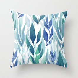 Leafage #02 Throw Pillow