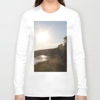 camping Long Sleeve T-shirts featuring Camping by RMK Photography