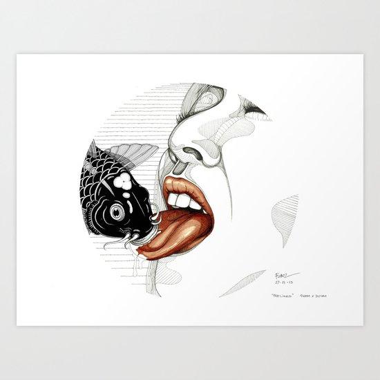 Feelings Art Print