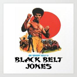 Black Belt Jones Art Print