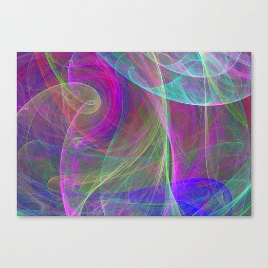 Air colors Canvas Print