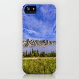 Sainte Victoire du matin iPhone Case