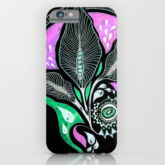 Pink Bloom iPhone & iPod Case