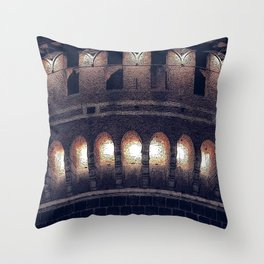The Castle #2 Throw Pillow