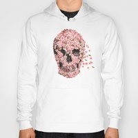 flower Hoodies featuring A Beautiful Death  by Terry Fan