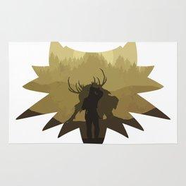 The beast hunt Rug