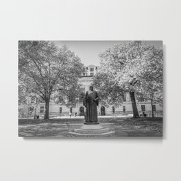 Ohio State Campus Library Print Metal Print
