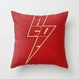 AC/DC ARROW Throw Pillow