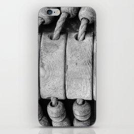 "Rigging on Dutch sailship ""De Arend"" iPhone Skin"