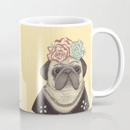 Frida Pug Kahlo Coffee Mug
