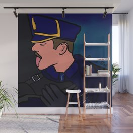 Beard Boy: Leather Lick Wall Mural