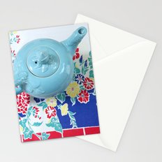 Teapot Blues Stationery Cards